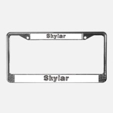 Skylar Wolf License Plate Frame