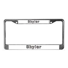 Skyler Wolf License Plate Frame