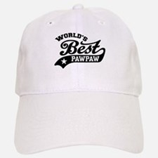 World's Best PawPaw Baseball Baseball Cap