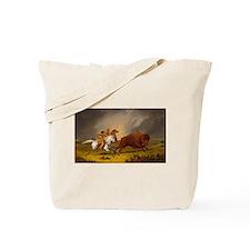 Unique American west Tote Bag