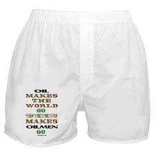 Fuel & Beer Boxer Shorts