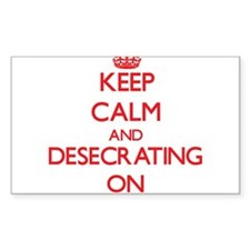 Desecrating Decal