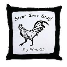 Strut Your Stuff Throw Pillow