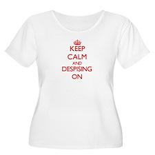 Despising Plus Size T-Shirt