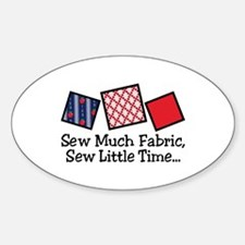 Sew Much Fabric Decal