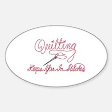 Quilting Saying Decal