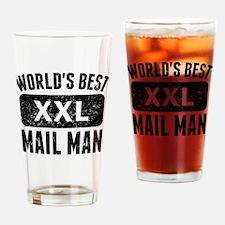 Worlds Best Mail Man Drinking Glass