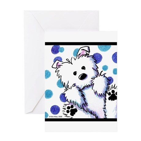 Muggles The Westie Greeting Card