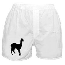 Standing Alpaca Boxer Shorts