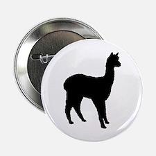 "Standing Alpaca 2.25"" Button"