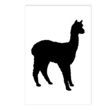 Standing Alpaca Postcards (Package of 8)