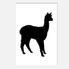 Standing Alpaca Postcards (Package of 8)