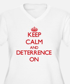 Deterrence Plus Size T-Shirt