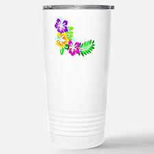Tropical Hibiscus Travel Mug