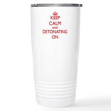 Detonating Travel Mug
