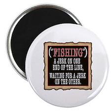 FISHING JERK Magnet