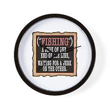 FISHING JERK Wall Clock