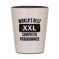 Worlds Best Computer Programmer Shot Glass