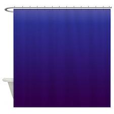 Shades Of Dark Blue Shower Curtain