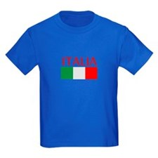 ITALIA FLAG T