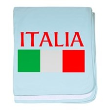 ITALIA FLAG baby blanket