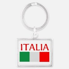 ITALIA FLAG Landscape Keychain