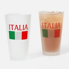 ITALIA FLAG Drinking Glass