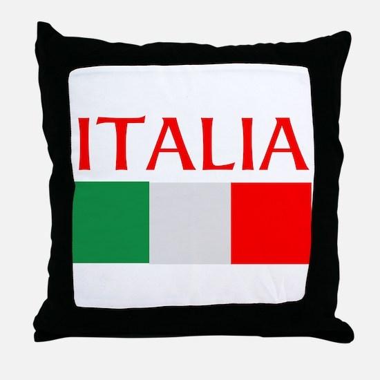 ITALIA FLAG Throw Pillow