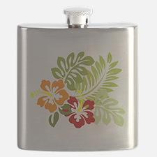 Hibiscus Dreams Flask