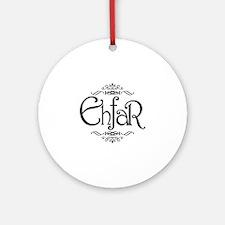 EHFAR Round Ornament