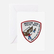 Medicine Bow Police Greeting Cards