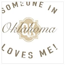 Someone In Oklahoma Poster