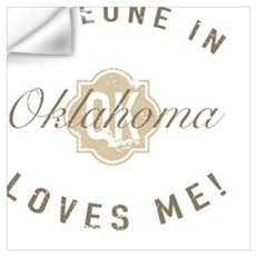 Someone In Oklahoma Wall Decal