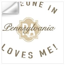 Someone In Pennsylvania Wall Decal
