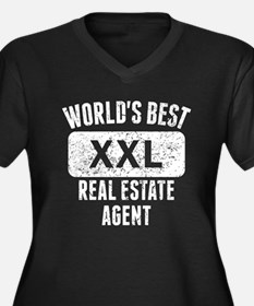 Worlds Best Real Estate Agent Plus Size T-Shirt