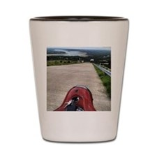 Texas Hill Country from a Vespa Shot Glass
