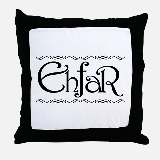EHFAR Throw Pillow