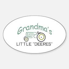 Grandpas Little Deeres Decal