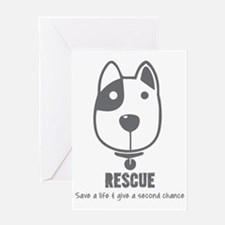 Unique Animal rescue Greeting Card