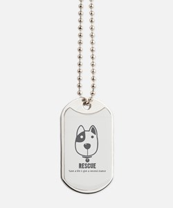 Funny Animal rescue Dog Tags