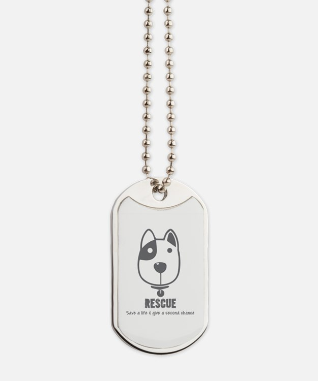 Cute Shelter Dog Tags