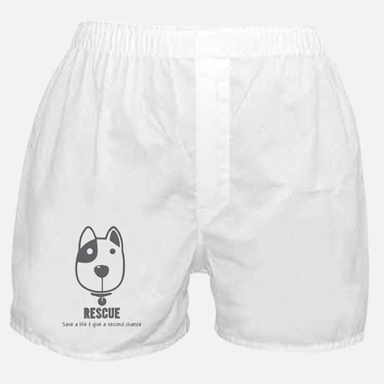 Unique Dog rescue Boxer Shorts