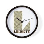 Liberty, Ohio Wall Clock