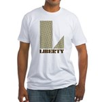 Liberty, Ohio Fitted T-Shirt