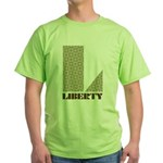 Liberty, Ohio Green T-Shirt