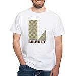 Liberty, Ohio White T-Shirt