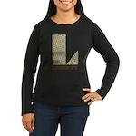 Liberty, Ohio Women's Long Sleeve Dark T-Shirt