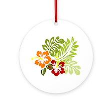 Hibiscus Dreams Ornament (Round)