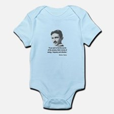 Quote By Nikola Tesla Body Suit