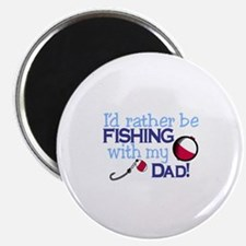 Fishing with Dad Magnets